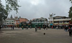 Darjeeling-The Mall and the Chowrasta-1