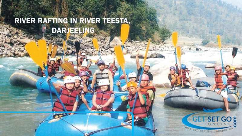River Rafting in River Teesta, Darjeeling