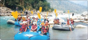 river rafting in teesta