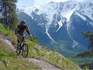 best time for mountain biking