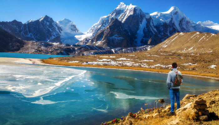 Gurudongmar Lake North Sikkim tour from Kolkata