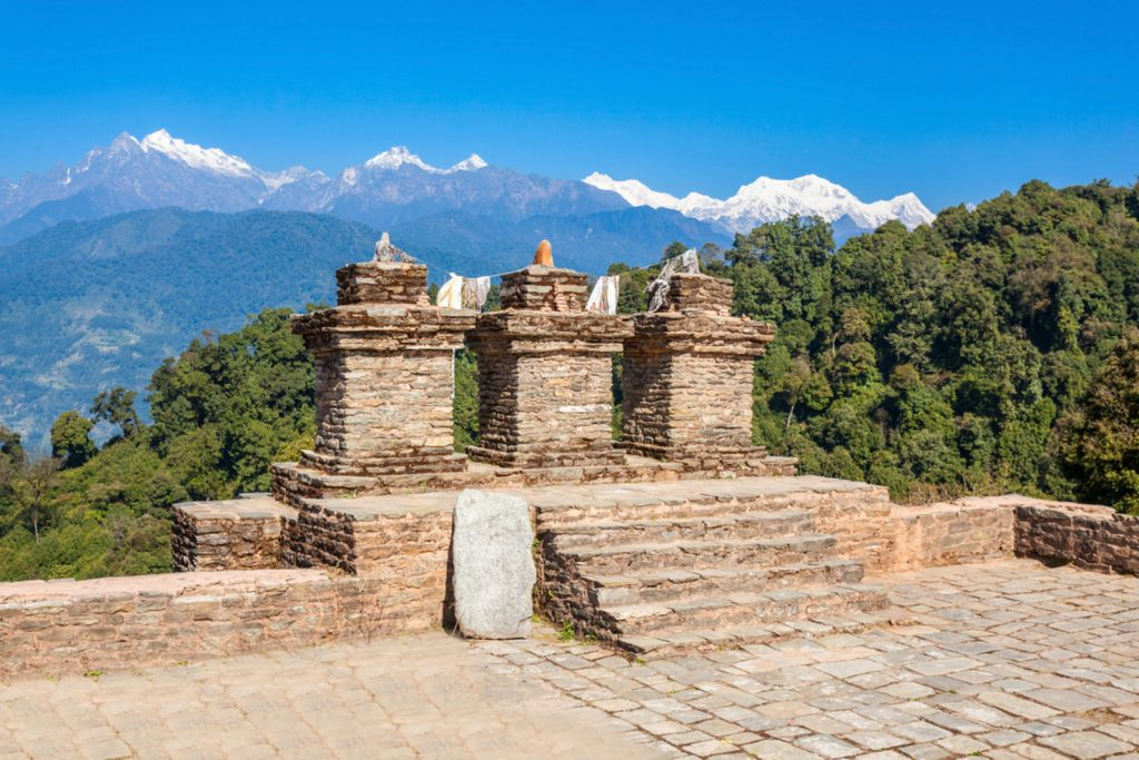 Pelling local sight seeing