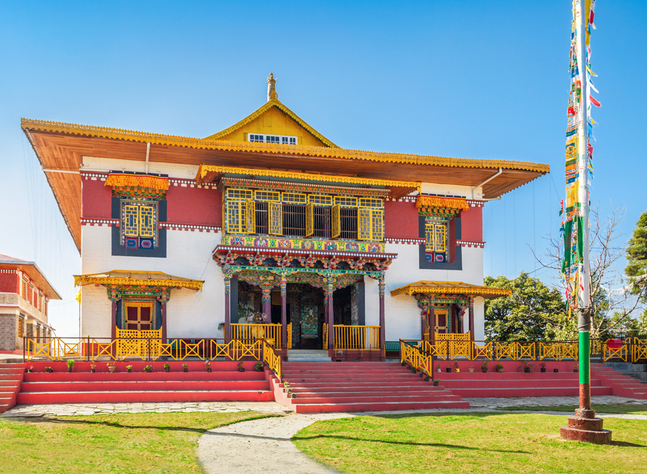 Sight seeing of Pelling Sikkim