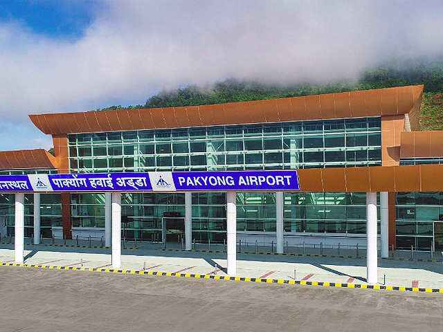 front view of Pakyong Airport